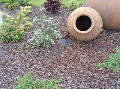 agrotekstilė - dirvožemio sluoksnių atskyrimui