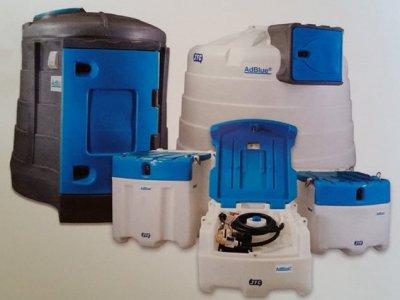 Kuro talpos, mobilios, AdBlue talpyklos, įranga