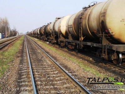 Traukinio cisterna, naudota cisterna